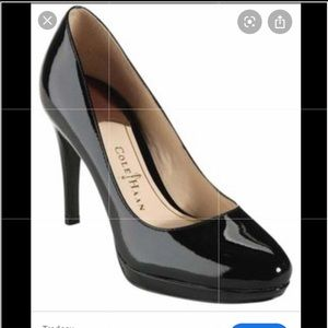 Cole Haan Classic leather Black pump